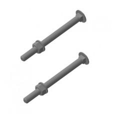 Комплект крепления фланца к столбу 60х60 мм
