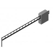 Шлагбаум антивандальный для ширины проема B=4000 мм без привода