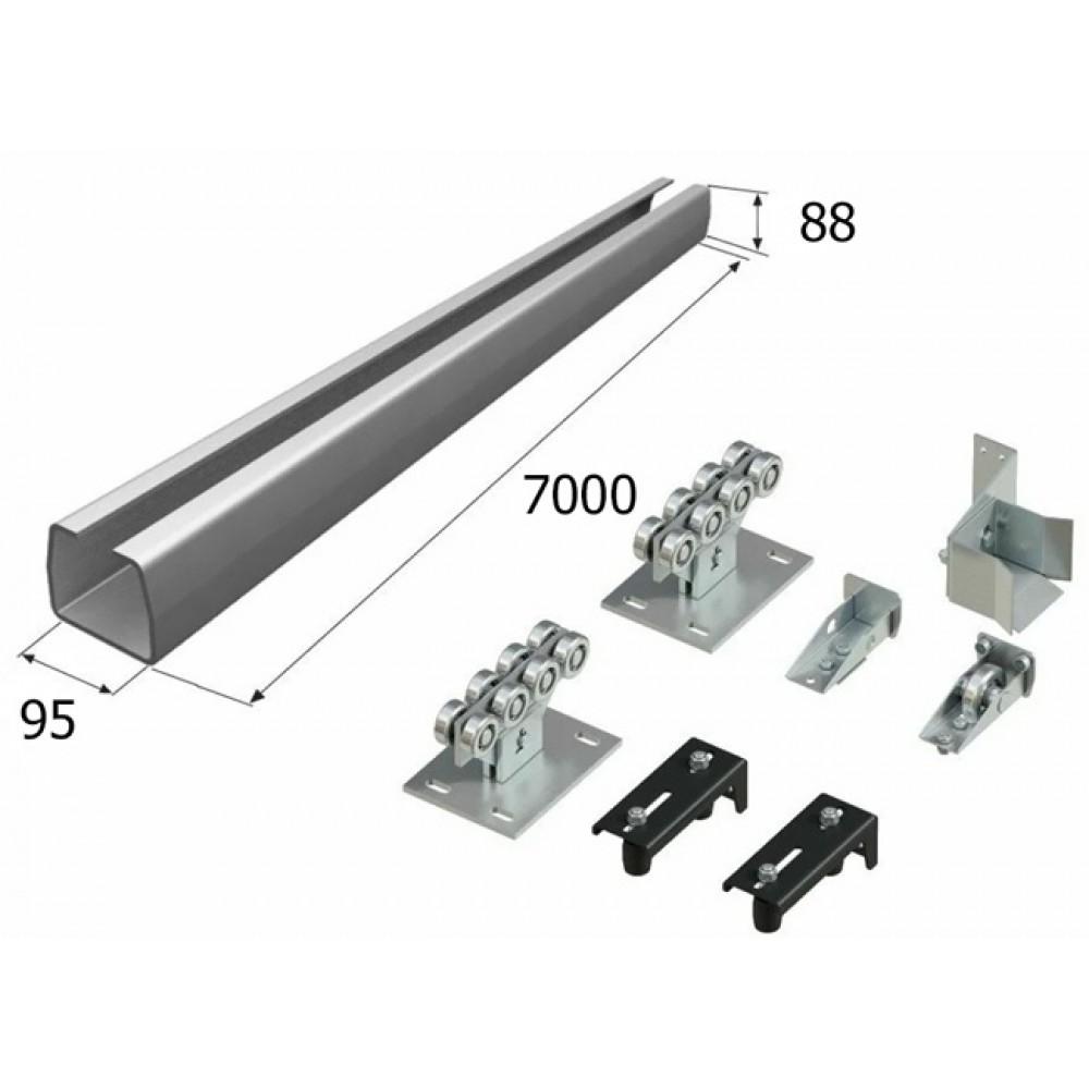 Комплект DoorHan для откатных ворот с балкой 95 х 88