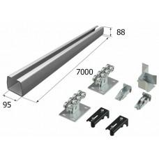 Комплект для откатных ворот с балкой 95 х 88